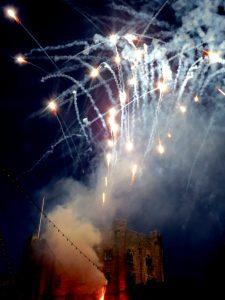 June Ball fireworks